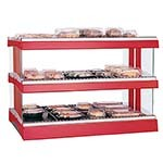 Hatco GR3SDH-33D - Glo-Ray Designer Horizontal Display Warmer, 21 rods, free-stand