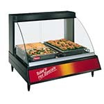 Hatco GRCD-2P - Heated Display Case, curved glass, (2) pan shelf, lighted