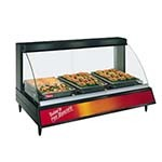 Hatco GRCD-3P - Heated Display Case, curved glass, (3) pan shelf, lighted