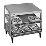 Hatco GRPWS-2418D - Pizza Merchandiser, Pass-Thru, double slant shelf, 24