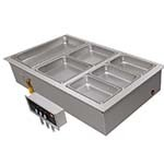 Hatco HWBI-2 - Drop-In Hot Food Well, (2) full pans, insulated