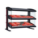 Hatco HZMH-54D - Heated Merchandiser, (2) shelf, (12) dividers, LED lighting