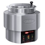 Hatco RHW-1-120-QS - Round Food Warmer/Cooker, countertop, (1) 11 qt. pan, dry operation