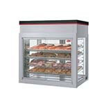 Hatco WFST-2X - Countertop Merchandiser, (4) racks, (4) French style doors