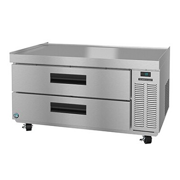 "Hoshizaki CR49A - Chef Base, one-section, 49""W x 33-1/4""D x 26""H, (2) drawers"