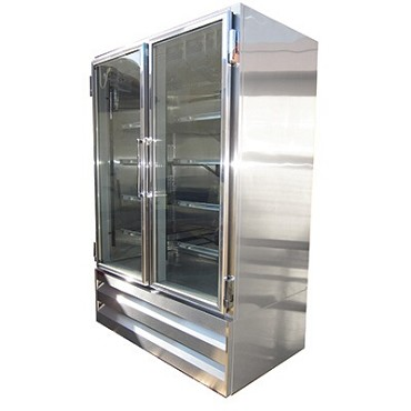 Howard-McCray GF42BM-S-LT - Freezer Merchandiser, 2 Section, Low Temp