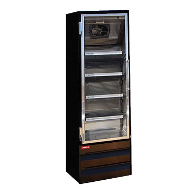 Howard-McCray GR19BM-B - Refrigerator Merchandiser, 1 Section, Hinged Door
