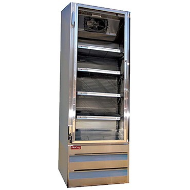 Howard-McCray GF19BM-S-FF - Freezer Merchandiser, 1 Section, Hinged Doors