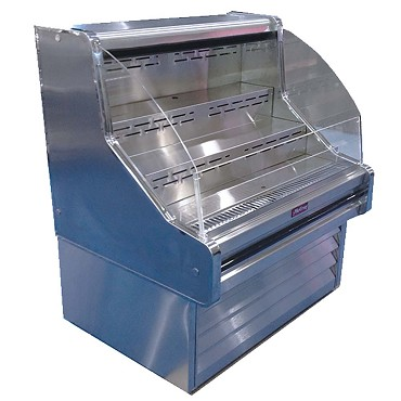 "Howard-McCray SC-OS30E-3C-S - Open Merchandiser, 39"" W"