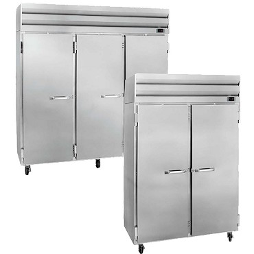 Howard-McCray SR75 - Reach-In Refrigerator, three-section, full doors