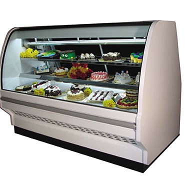 "Howard-McCray D-CBS40E-4C-LED - Bakery Case, White, 51"" W"