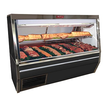 "Howard-McCray SC-CMS34N-6-BE-LED - Meat Display Case, 72"" W"