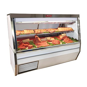 "Howard-McCray SC-CMS34N-8-LED - Meat Display Case, 96"" W"