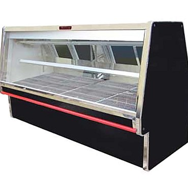 "Howard-McCray R-CMS34E-4-BE-LED - Meat Display Case, Double Duty, 52.5"" W"