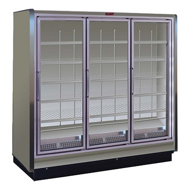 Howard-McCray RIN5-30-LED-S - Refrigerator Merchandiser, 5 section, hinged glass doors