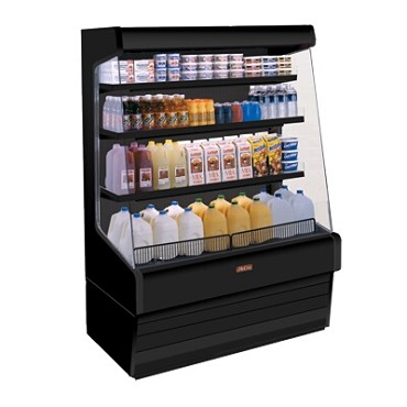 "Howard-McCray R-OD30E-3-B-LED - Open Merchandiser, 39"" W"