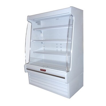 "Howard-McCray R-OD30E-10-LED - Open Merchandiser, 123"" W"