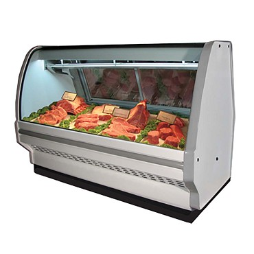 "Howard-McCray R-CMS32E-4C-LED - Meat Display Case, Single Duty, 50"" W"