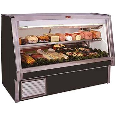"Howard-McCray SC-CDS34E-10-BE-LED - Deli Case, 124.5"" W"