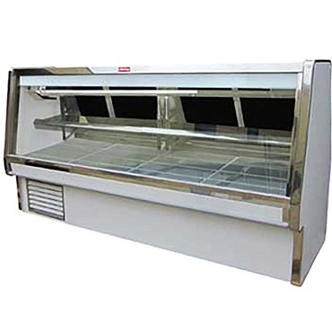 "Howard-McCray SC-CMS34E-4-LED - Meat Display Case, Double Duty, 52.5"" W"