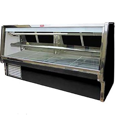 "Howard-McCray SC-CMS34E-10-BE-LED - Meat Display Case, Double Duty, 124.5"" W"