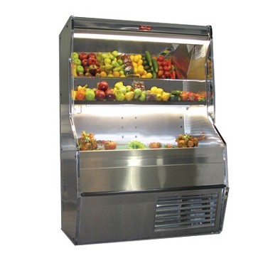 "Howard-McCray R-P32E-12S-S-LED - Produce Merchandiser, 146"" W"