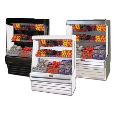 "Howard-McCray R-OP30E-10-B-LED - Produce Merchandiser, 123"" W"
