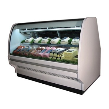 Howard-McCray R-CDS40E-6C-LED - Deli Case, Single Duty, Curved Glass