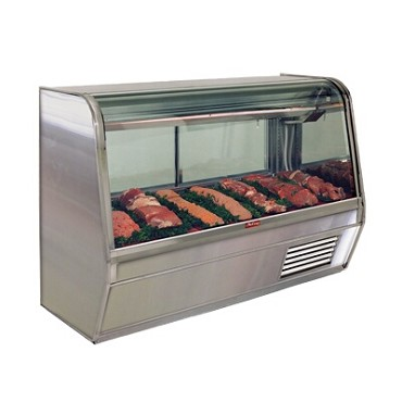 "Howard-McCray R-CMS32E-6C-S-LED - Meat Display Case, Single Duty, 74"" W"