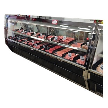 "Howard-McCray R-CMS40E-12-BE-LED - Meat Display Case, Single Duty, 148.5"" W"