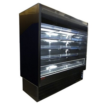 "Howard-McCray R-OD35E-6-B-LED - Open Merchandiser, 75"" W"