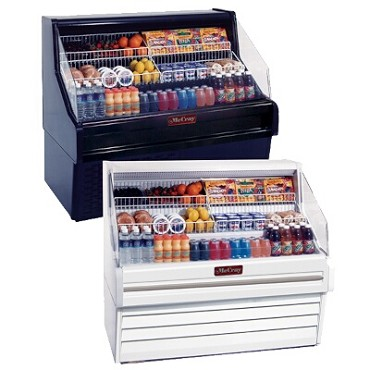 "Howard-McCray R-OS30E-5-B - Open Merchandiser, 63"" W"