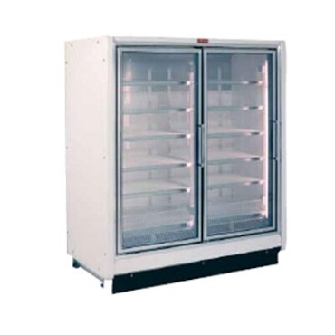 Howard-McCray RIN2-30-LED - Refrigerator Merchandiser, 2 section, hinged glass doors