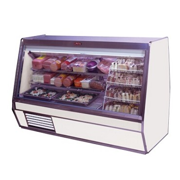"Howard-McCray SC-CDS32E-6PT-LED - Deli Case, Single Duty, 74"" W"