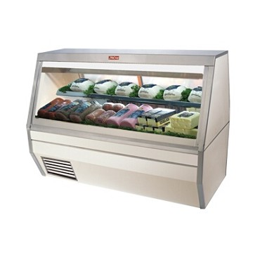 "Howard-McCray SC-CDS35-4PT-LED - Deli Case, Pass Thru, 50"" W"