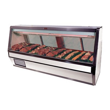 "Howard-McCray SC-CMS40E-6-LED - Meat Display Case, Single Duty, 76.5"" W"