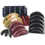 HS Inc. HS1022-BB - Taco Server, 4 Shell Capacity Holder (Dozen)
