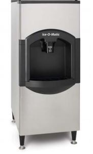 Ice-O-Matic CD40022 - Ice Dispenser with Bin 120 lb. Storage Capacity