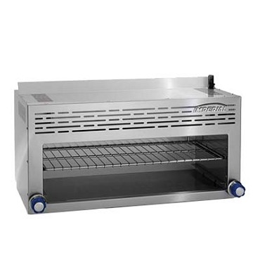 "Imperial IRCM-84 - Cheese Melter Broiler, 84""W, infra-red burner, 304 stainless steel"