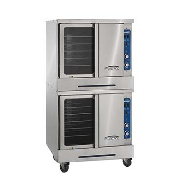 Imperial ICVE-2 - Dual Turbo-Flow Electric Convection Ovens, 22 kw.