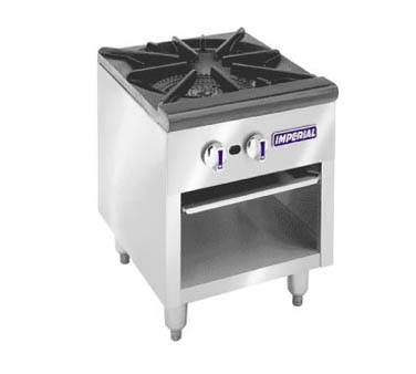 Imperial ISPA-18 - Gas Stock Pot Range w/Three Ring Burner, 90,000 BTU