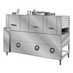 Insinger SUPER 106-2 RPW - Conveyor Dishwasher, high temp., three-tank, 330 racks/hour