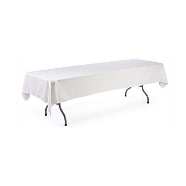 Intedge TCM8181HG - Hunter Green Square Tablecloth, 81 x 81 in.