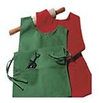 Intedge C335 - Cobbler Apron, 2 Pockets, Matching Ties