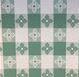 Intedge VC60-CG - Checkered Green Round Tablecloth, 60 in.