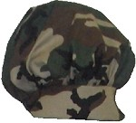 Intedge 346H-CAMO - Camouflage Chef's Hat. One Size Fits All