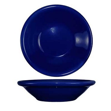 International Tableware CAN-11-CB - Cancun 4-3/4 oz. Fruit Bowl, Cobalt Blue (Case of 36)