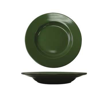 International Tableware CA-120-G - Cancun 20 oz. 12 in. Pasta Bowl, Green (Case of 12)