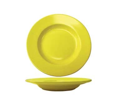 International Tableware CA-120-Y - Cancun 20 oz.12 in. Pasta Bowl, Yellow (Case of 12)