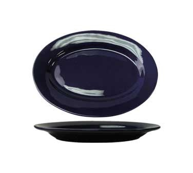 International Tableware CA-14-CB - Cancun 12-1/2 in. Platter, Cobalt Blue (Case of 12)